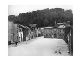 A Street in Montgomery, Wales, 1924-1926 Giclee Print by E Bastard