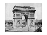 Arc De Triomphe, Paris, Late 19th Century Giclee Print by John L Stoddard