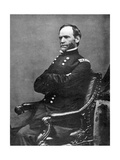William Tecumseh Sherman, American Soldier, 1869 Giclee Print by Matthew Brady