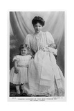 Princess Alexander of Teck with Princess May and Prince Rupert, C1907 Giclee Print by Stuart Richmond