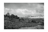 Jeruslem and the Garden of Gethsemane, 1937 Giclee Print by Martin Hurlimann