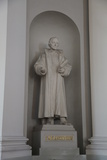 Statue of Philipp Melanchthon, Lutheran Cathedral, Helsinki, Finland, 2011 Photographic Print by Sheldon Marshall