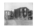 Kenilworth Castle, England, Late 19th Century Giclee Print by John L Stoddard