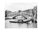 The Rialto, Venice, Late 19th Century Giclee Print by John L Stoddard