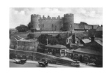 Shrewsbury Castle, Shrewsbury, Shropshire, C1900s-C1920S Giclee Print by Francis Frith