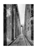 The North Side of the Parthenon, Athens, 1937 Giclee Print by Martin Hurlimann