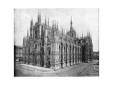 Milan Cathedral, Italy, Late 19th Century Giclee Print by John L Stoddard