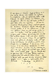 Letter from Martin Luther to Thomas Cromwell, 9th April 1536 Giclée-tryk af Martin Luther