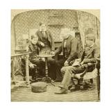 Chess, 1850S Giclee Print