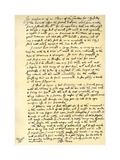 Report by Sir Christopher Wren, 28th July 1675 Giclee Print by Christopher Wren