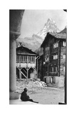 Matterhorn, Zermatt, Switzerland, C1924 Giclee Print by Donald Mcleish