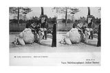 Camel Ride, Zoological Gardens, C1900 Giclee Print by Julien Damoy