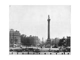 Trafalgar Square, London, Late 19th Century Giclee Print by John L Stoddard