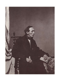 Hans Christian Andersen, Danish Author, 19th Century Giclee Print by Franz Hanfstaengl