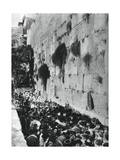 Western Wall of the Temple Mount, Jerusalem, 1937 Giclee Print by Martin Hurlimann