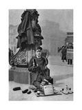 A Bootblack, London, 1926-1927 Giclee Print by  McLeish