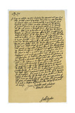 Letter from John Dryden to Laurence Hyde, C1682-1683 Giclee Print by John Dryden