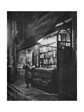 A Bookshop in Bloomsbury, London, 1926-1927 Giclee Print by HW Fincham