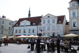 Outdoor Concert in Town Hall Square, Tallin, Estonia, 2011 Photographic Print by Sheldon Marshall