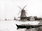Windmills, Laandam, Netherlands, 1898 Photographic Print by James Batkin
