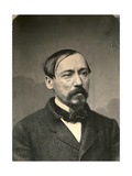 Nikolay Nekrasov, Russian Poet and Publisher, Late 1850S Giclee Print by Karl August Bergner