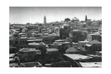 Jerusalem and Dome of the Church of the Holy Sepulchre, 1937 Giclee Print by Martin Hurlimann