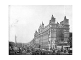 Lime Street, Liverpool, England, Late 19th Century Giclee Print by John L Stoddard