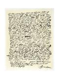 Letter from John Graham of Claverhouse to George Livingston, 1st June 1679 Giclee Print by John Graham