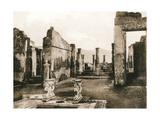 Casa Di Cornelio Rufo, Pompeii, Italy, C1900s Giclee Print