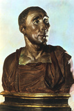 Bust of Niccolo Da Uzzano, C1430S Photographic Print by  Donatello