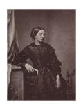 Clara Schumann, German Pianist and Composer, 19th Century Giclee Print by Franz Hanfstaengl
