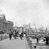 The Bund, Shanghai, China, Early 20th Century Photographic Print by J Dearden Holmes