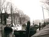 Canal Boats, Dordrecht, Netherlands, 1898 Photographic Print by James Batkin