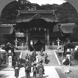 Osua Temple, Nagasaki, Japan, 1901 Photographic Print by BL Singley
