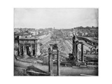 The Forum, Rome, Late 19th Century Giclee Print by John L Stoddard