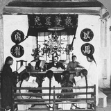 Interior of a Schoolroom at Peking University, China, 1902 Photographic Print by CH Graves