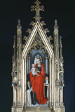 Virgin and Child, St Ursula Shrine, 1489 Photographic Print by Hans Memling