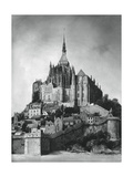 Mont Saint-Michel, Normandy, France, 1937 Giclee Print by Martin Hurlimann