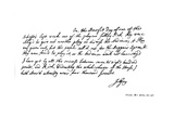 Part of a Letter from John Gay to Dean Swift, C1728 Giclee Print by John Gay