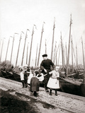 People of Marken Island, Netherlands, 1898 Photographic Print by James Batkin