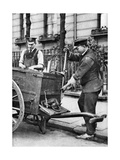A Gas Fitter, London, 1926-1927 Giclee Print by  McLeish