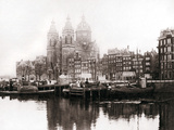Church of St Nicholas Inside the Walls, Amsterdam, 1898 Photographic Print by James Batkin
