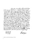Part of a Letter from Horace Walpole to the Reverend Mr Cole, 1777 Giclee Print by Horace Walpole
