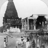 The Great Pagoda of Tanjore (Thanjavu), India, 1902 Photographic Print by BL Singley