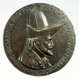Medal of John VIII Palaeologus, Byzantine, C1440 Photographic Print by  Pisanello