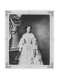 Empress Elisabeth of Austria, 1857 Giclee Print by Franz Hanfstaengl