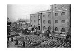 Barrels of Molasses, West India Docks, London, 1926-1927 Giclee Print by  Langfier