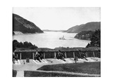Up the Hudson River from West Point, New York, USA, 1893 Giclee Print by John L Stoddard