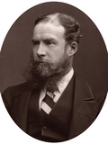 Sir John Lubbock, Bart, MP, FRS, Vice-Chancellor of the University of London, 1877 Photographic Print by  Lock & Whitfield