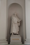 Statue of Martin Luther, Lutheran Cathedral, Helsinki, Finland, 2011 Photographic Print by Sheldon Marshall